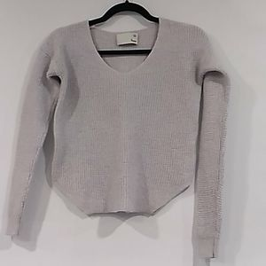 Aritzia•Wilfred Free cropped knit sweater